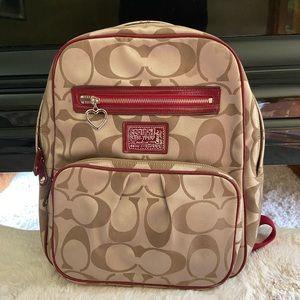 Like New Coach Backpack